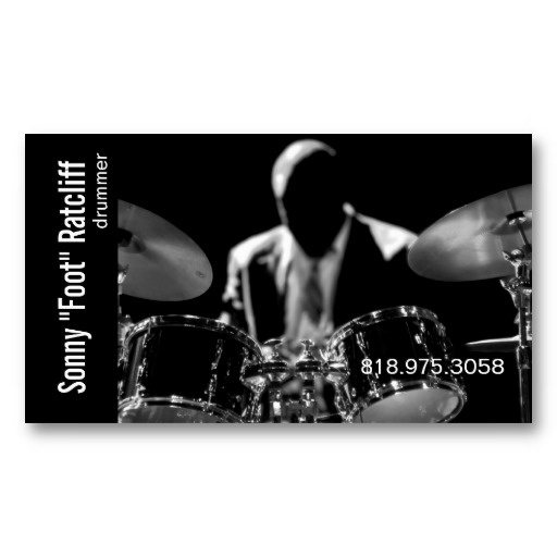 38 best business cards music images on pinterest business card drummer musician for music business card colourmoves