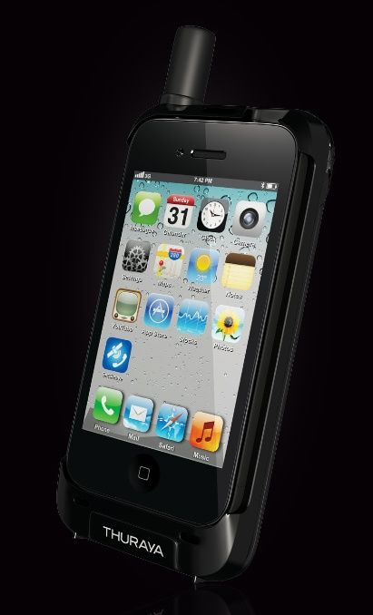 Thuraya SatSleeve turns your iPhone into a satellite phone