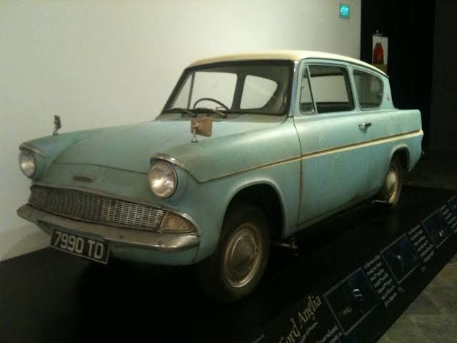 Ford Anglia 105e 1962 Harry Potter And The Chamber Of Secrets