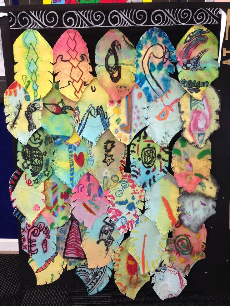 Matariki Korowai- Classroom Art