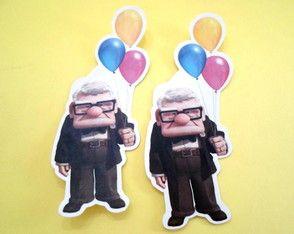 Scrap Sr. Fredricksen c/ Balões Up