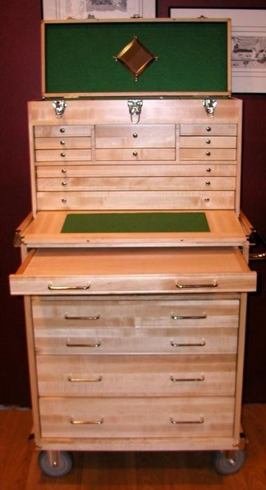 Wood Tool Chest ~ Wooden machinist tool chest plans free woodworking
