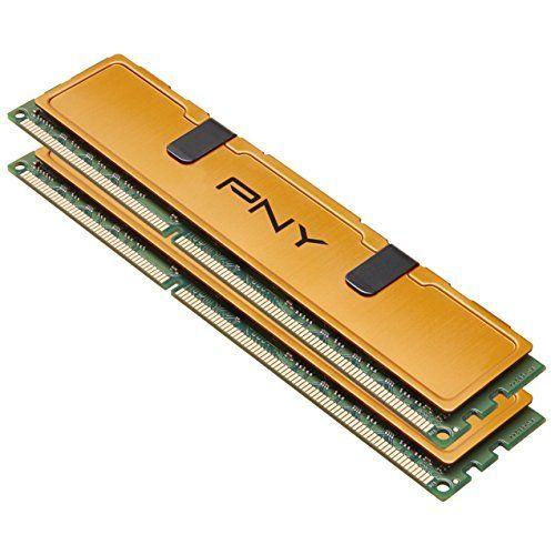 PNY DDR3 8GB (2x4GB) 1333MHz (PC3-10666) CAS 9 1.5V PC Memory Desktop Kit (MD8192KD3-1333)