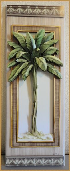 Quadro Arte Francesa  feito por Valéria Lenk Castro #papertole #arte francesa #artesanato