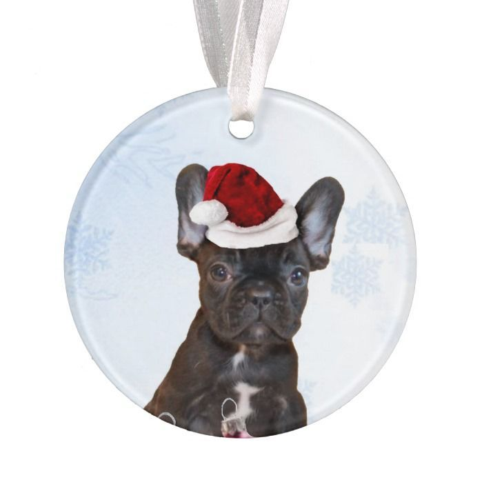 Christmas Ornament Gift For Dog Lovers English Bulldog Puppy Puppy/'s First Christmas KeepSake 2021 Personalized Pet Ornament