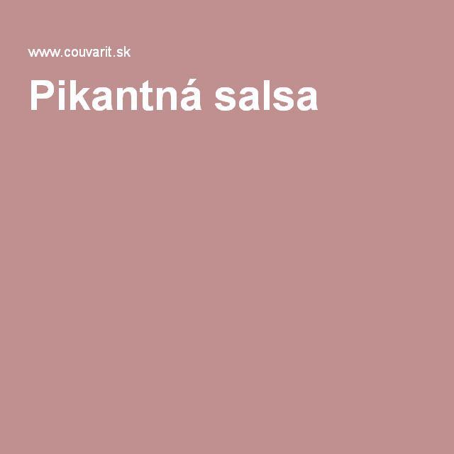 Pikantná salsa