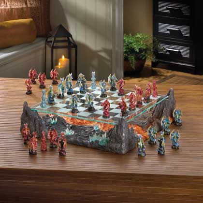 15191+COLOR+DRAGON+CHESS+SET