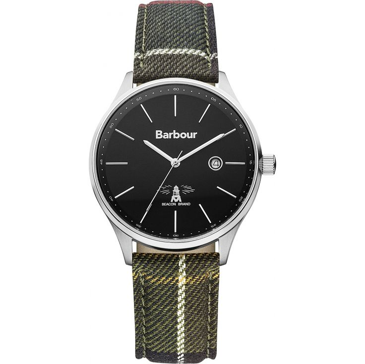 Barbour Mens Date Display Watch - BB021SLTR from WatchWarehouse