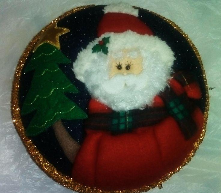 Mogolla navideña papá Noel