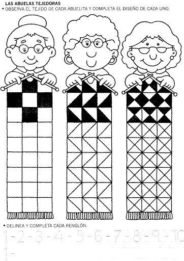 Wat is oma daar aan het breien? - Leuke knutselopdracht! Past binnen het thema familie, opa en oma, grootouders, kinderboekenweek 2016