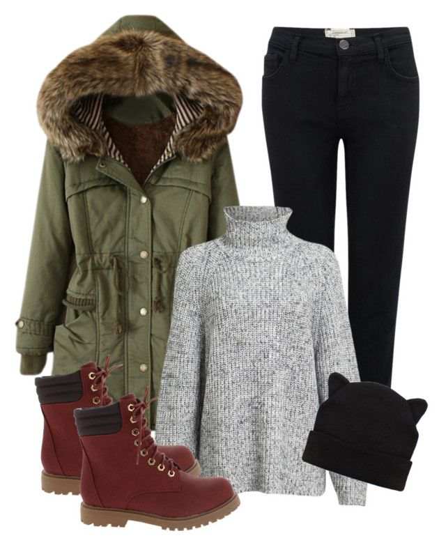 """""""winter10"""" by adela-simkova on Polyvore featuring Current/Elliott and Alexander Wang"""
