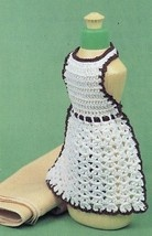 crocheted Dish soap apron (to purchase, unless you can make it up :) )