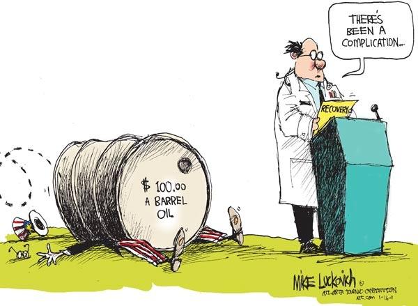 Political Cartoon: Oil Dependence   Political cartoons ...