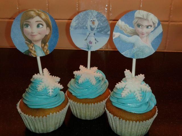 Traktatie's Cupcakes Frozen
