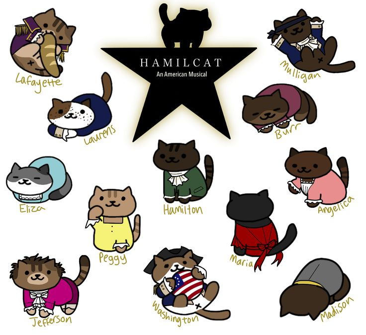 allegoryofthecave: Hamilton + Neko Atsume. The crossover everyone needs.