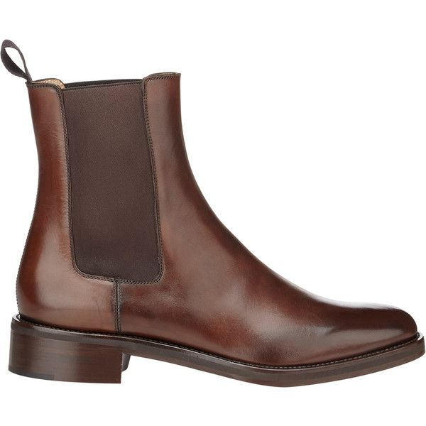 Christian Louboutin Men's Ludovic Chelsea Boots ($1,395) ❤ liked on Polyvore featuring men's fashion, men's shoes, men's boots, dark brown, mens beatle boots, mens boots, mens slip on boots, mens shoes and mens chelsea boots