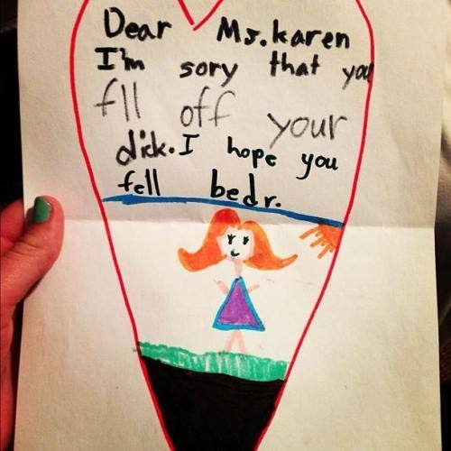 Brutally honest: Kids writing notes (16 photos)