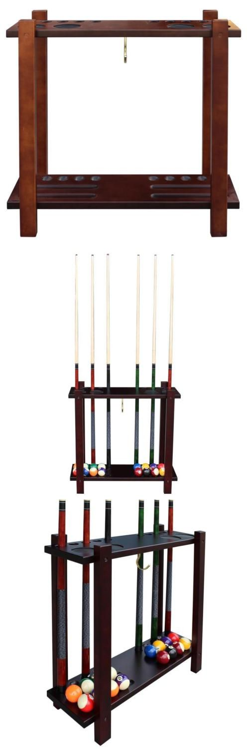 Ball and Cue Racks 75185: Classic Floor Billiard Pool Cue Rack -> BUY IT NOW ONLY: $119.26 on eBay!