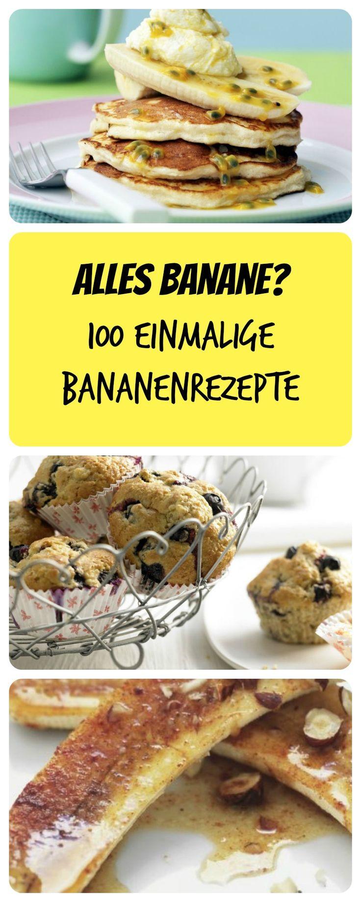 Die Banane ist so vielfältig, sie schmeckt einfach immer. Süß, pikant, warm oder kalt. Finden Sie Ihr persönliches Bananenrezept!