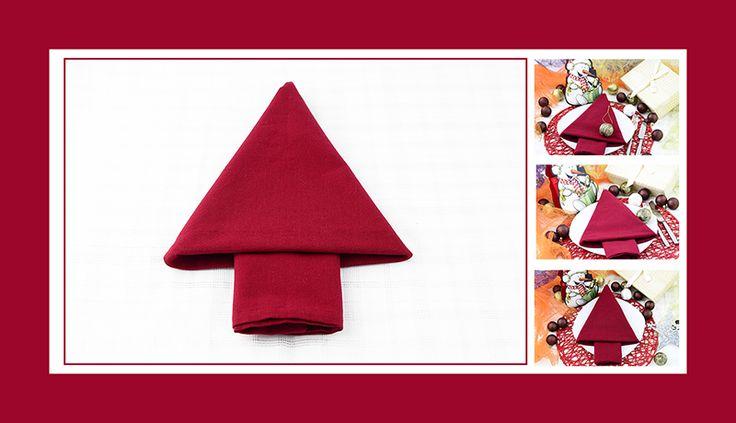 Servierten Falten Weihnachten. servietten falten f r weihnachten ...