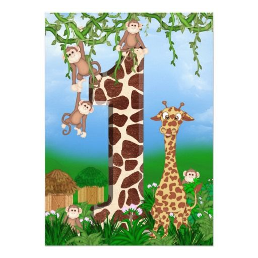 421 best images about Giraffe Birthday Party Invitations on – Giraffe Party Invitations
