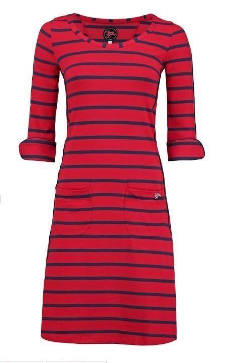 ≥ Tante Betsy dress patsy stripe red L - Merkkleding | Jurken - Marktplaats.nl