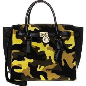 michael kors camo purse