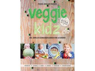 veggie kidz | vrolijk vegetarisch kookboek | verantwoord koken en bakken voor kinderen