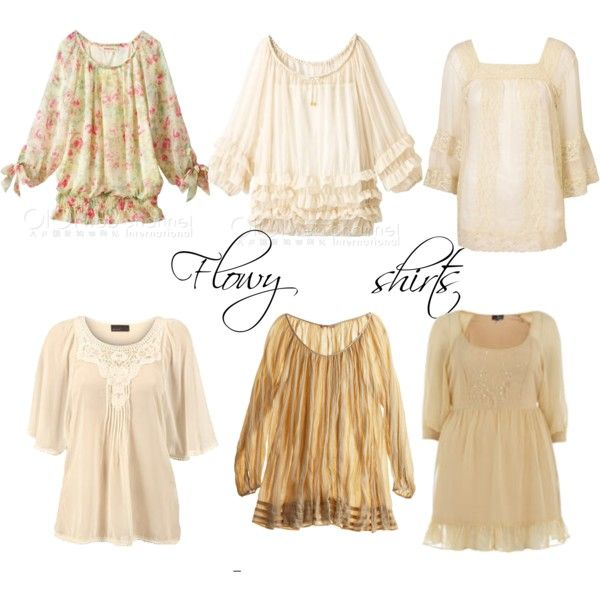 Flowy shirts, created by upcgirl on Polyvore: Polyvore, Flowy Shirts, Create, Upcgirl