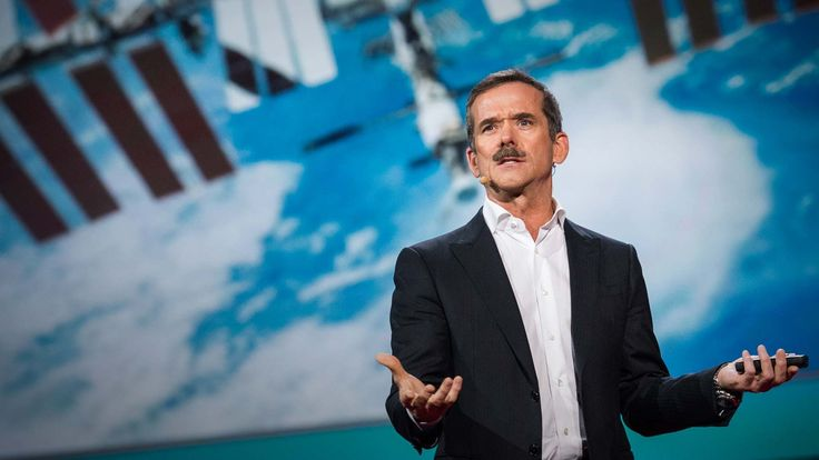 """Profundity from Col. Chris Hadfield, """"The danger is entirely different than the fear."""""""