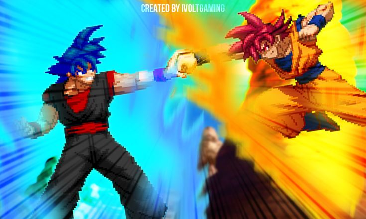 The original creator of Evil Goku is redheadhenry,SSG Evil Goku