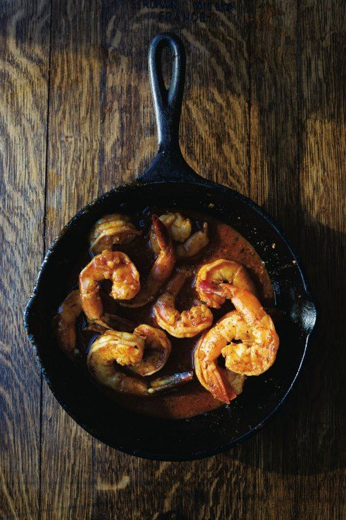 Shrimp Mozambique | SAVEUR - This spicy shrimp dish, a Portuguese classic named for its former African colony, is served at the Liberal Club in Fall River, Massachusetts, with french fries and rice or pasta