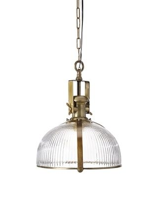 -28,800% OFF Filling Spaces Glass Pendant Light, Brass/Glass