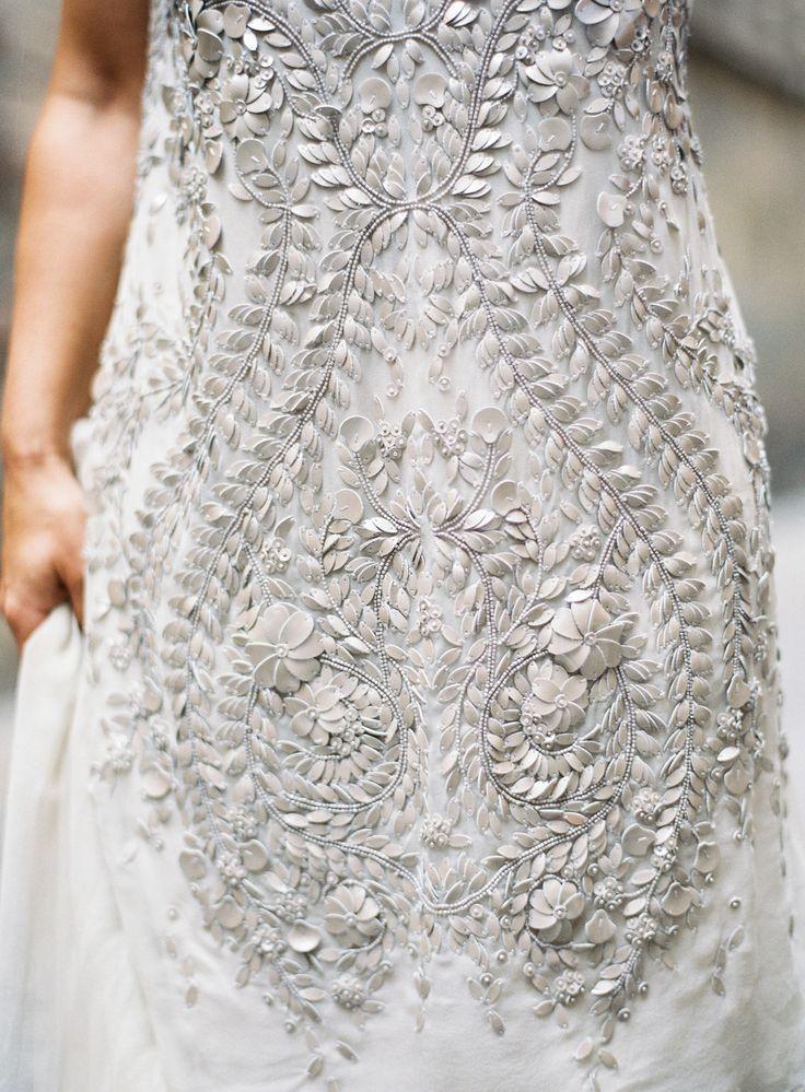 Gorgeous gray engagement dress