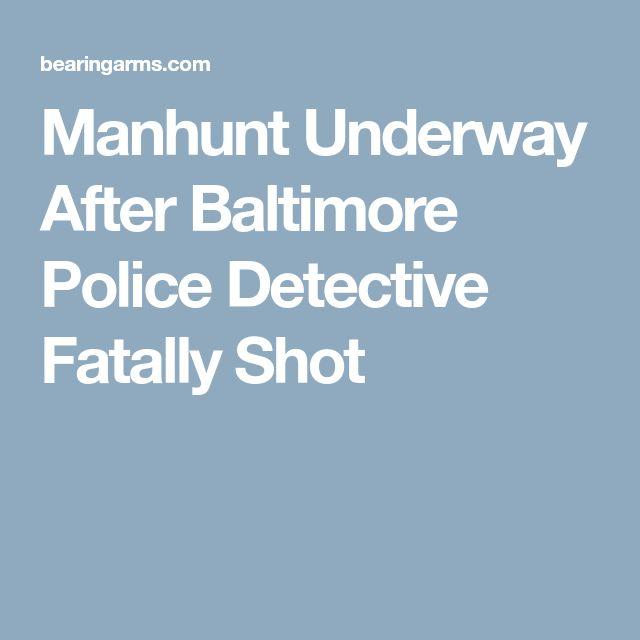 Manhunt Underway After Baltimore Police Detective Fatally Shot