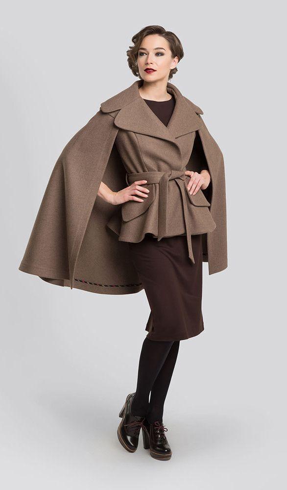 Woolen Coat 'Sherlock'   Шерстяное пальто «Шерлок» — Купить, заказать, шерсть, пальто, весна, шерлок холмс, ручная работа
