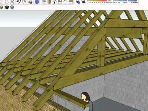 1000 ideas about roof trusses on pinterest timber for Truss roof system