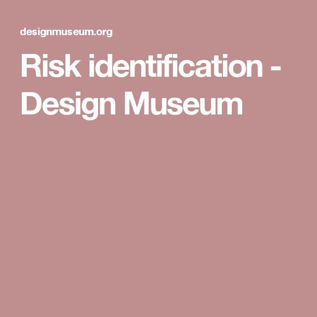 Risk identification - Design Museum