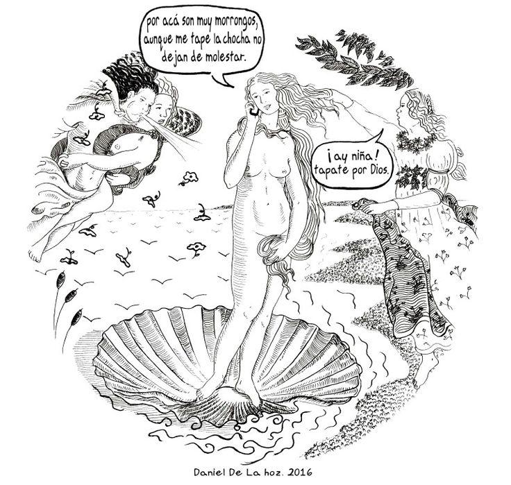 La llegada de Venus. Daniel De La Hoz. 2016.