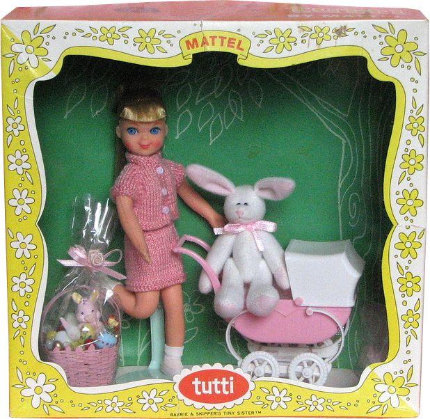 *1966 walking my plush Tutti doll 2