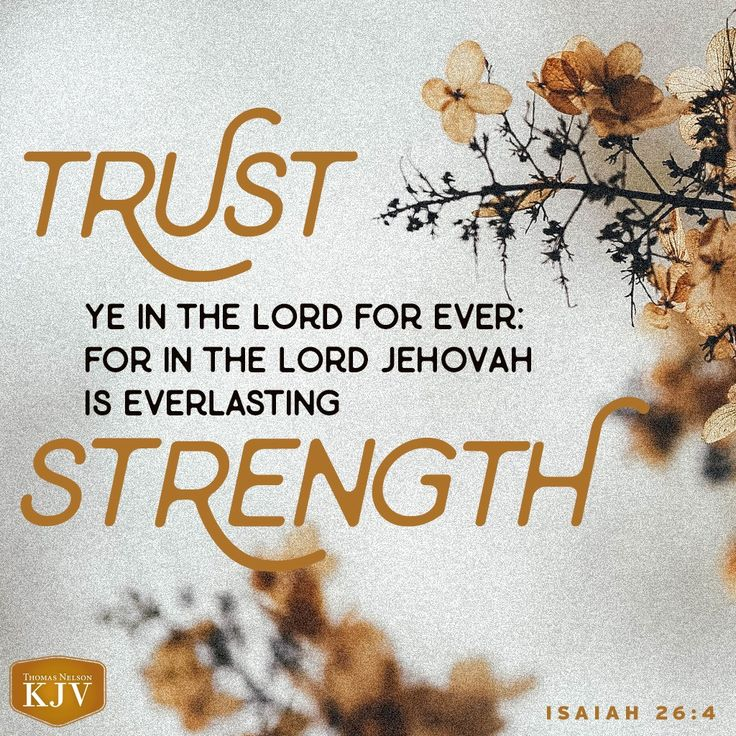 KJV Verse of the Day: Isaiah 26:4