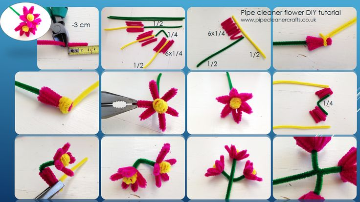 pipe cleaner crafts by www.pipecleanercrafts.co.uk