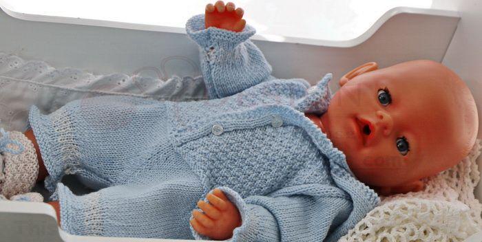 Baby born Kleidung selber stricken