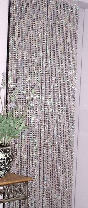 Diamond Curtains from diamond party confetti
