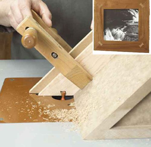Butterfly Spline Joints and Jig Woodworking Plan, Shop Project Plan   WOOD Store