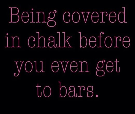 Or in our case HIGHBAR !!!!! For all the chalk eaters out there !!!!