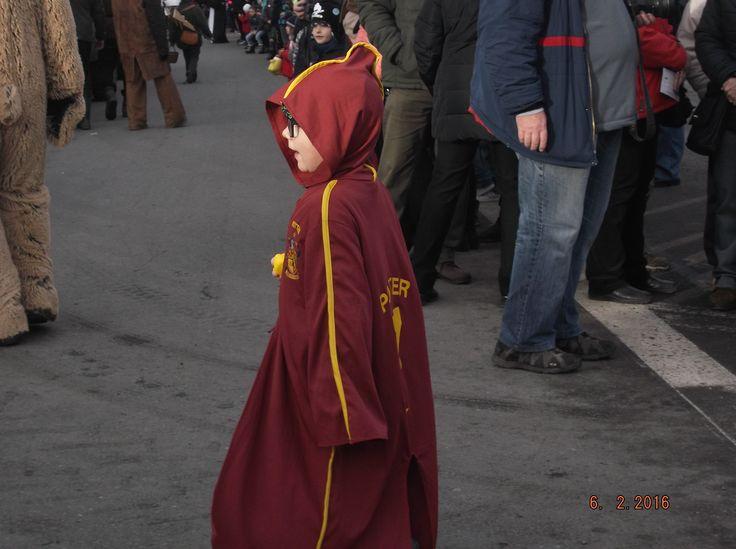 Karneval 2016- malý Harry Potter