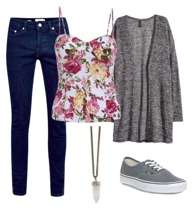 """""""cat valentine outfit"""" by alexisrom on Polyvore featuring H&M, Vans and Givenchy"""