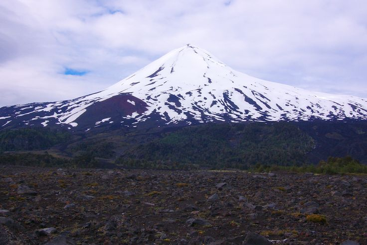 Volcán Llaima, Chile.