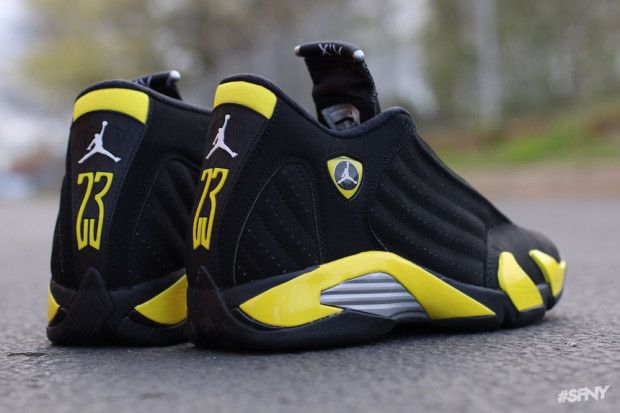 "Air Jordan 14 ""Thunder"" (Another Look)"
